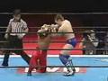 American Dragon vs Tiger Mask 4, New Japan 2/1/04.