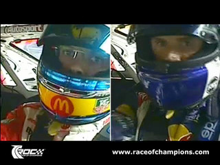 Race of Champions 2007 - Button v Coulthard