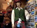 Missy shopping in Scotland