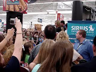 Taylor Swift (Walmart Gig) Part 1