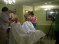 my uncle gets his head shaved part 1