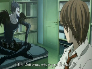 I've been watching the shadows of death note