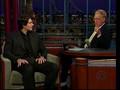 Brandon Routh on Letterman
