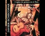 Tres siglos de guitarra en Perú j.Echecopar