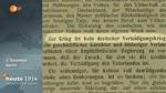 27 Teebomben für die Front 1. - 5. Dezember 1914