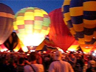 2003 Albuquerque Int'l Balloon Fiesta - Balloon Glow
