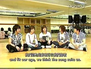 F.T Island on Arirang TV Pops in Seoul Interview