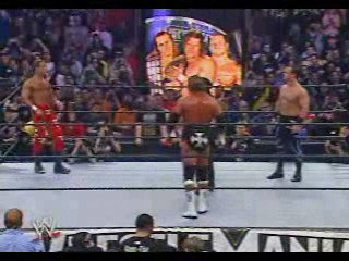 Benoit vs Triple H vs HBK