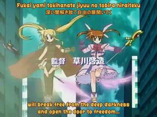 Magical Girl Lyrical Nanoha A's opening
