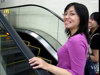 shortest escalator ever seen... yet!