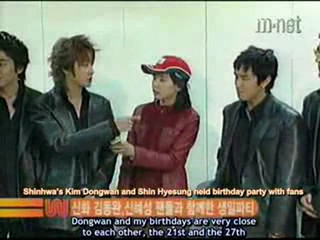 031125 M.Net Wide WanSyung Birthday Party (eng sub)