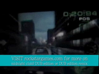 midnight club race on the psp
