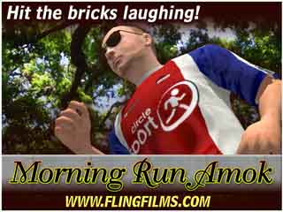 Morning Run Amok Trailer