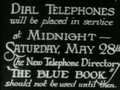 How To Use The Dial Telephone {1927}