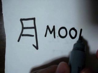 How to write Kanji Tsuki