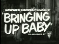 'Bringing Up Baby