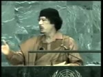 Qaddafi's Speech  to the UN