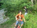 jumping a hill