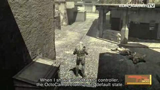 Metal Gear Solid 4 - In-Game footage