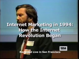 Internet Marketing in 1994: How the Internet Revolution Started