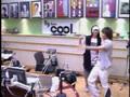 super junior- leeteuk and eunhyuk dacing happiess song