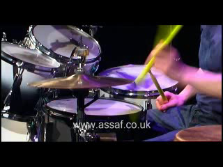 Crazy Drum Solo/Juggling Drummer