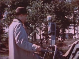 Nazi V2 Rocket Test