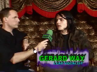 MY CHEMICAL ROMANCE interviewed by Eric BlairingOut.com