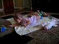 07/17/06 Brylie trys to get her binky.