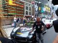 Mario Andretti at the 2006 Bullrun kickoff, Times Square NYC
