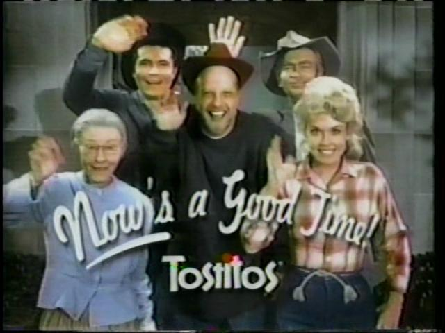 Tostitos Beverly Hillbillies commercial