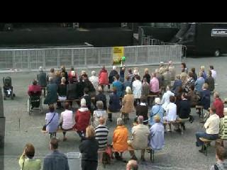Concert op de markt met Concordia