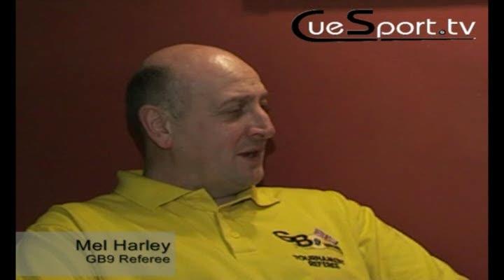 Pool Referee - Mel Harley Interview