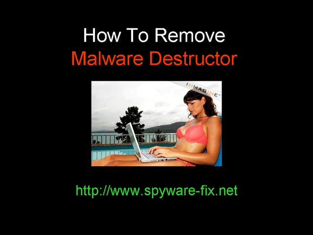 Remove Malware Destructor QUICKLY