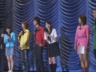 MagiRanger Meets Fans On Stage (raw)