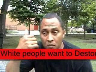 Niggers ( Black Man)  Wake Up ! Whites want to Destroy you ! Pary 2