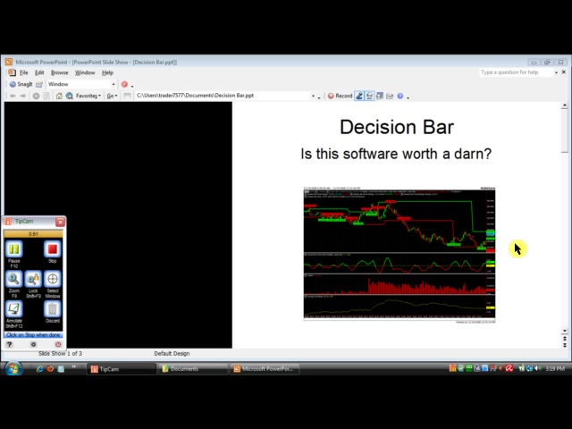 How to Use Decision Bar