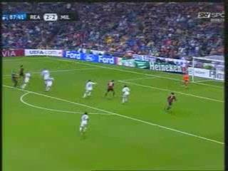 [HQ] GOAL PATO! REAL-MILAN 2-3 (Caressa pazzo, Sky Sport)