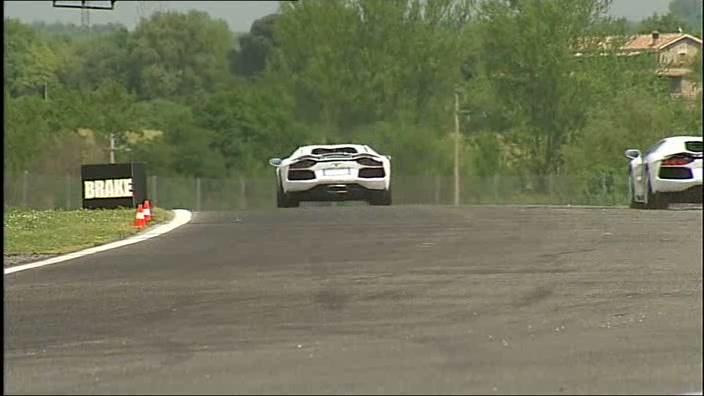 Der Lamborghini Aventador