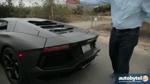 2013 Lamborghini Aventador Review