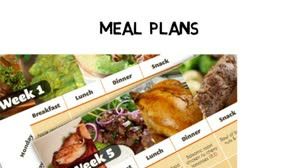 The Paleo Recipe Book Meals Fruits and desserts